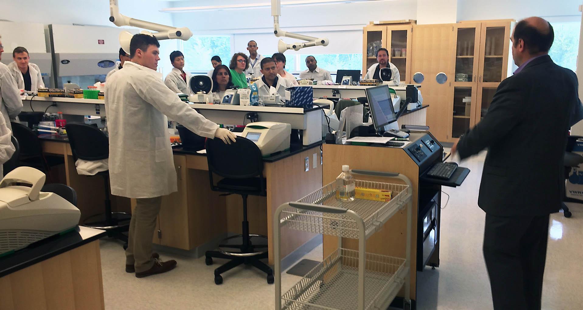 Bio-Trac Lab Photo
