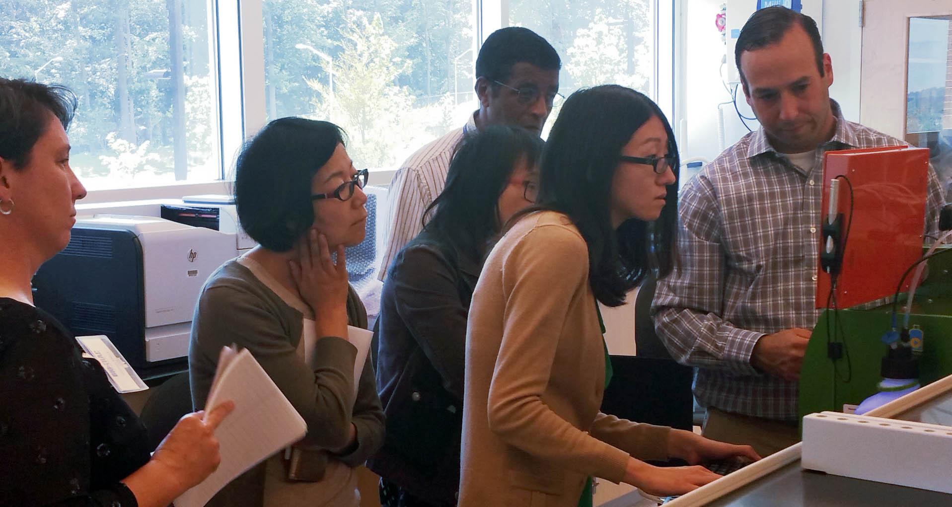 Flow Cytometry Lab Photo