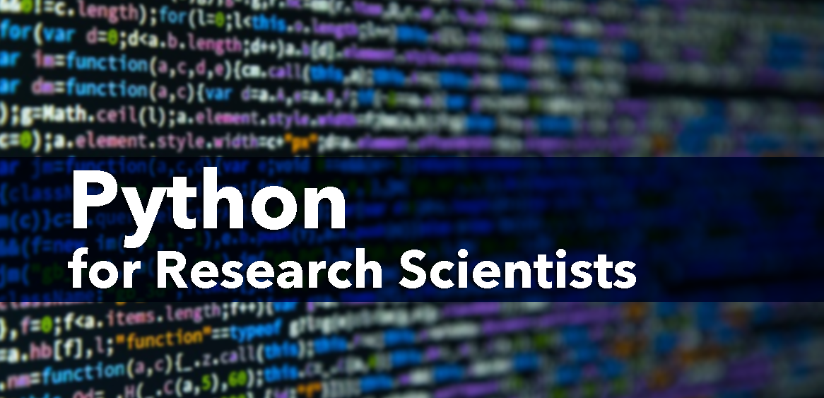 Python for Research Scientists